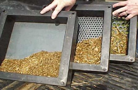 Feed particle size for cattle